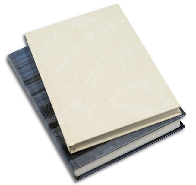 Hard binding books