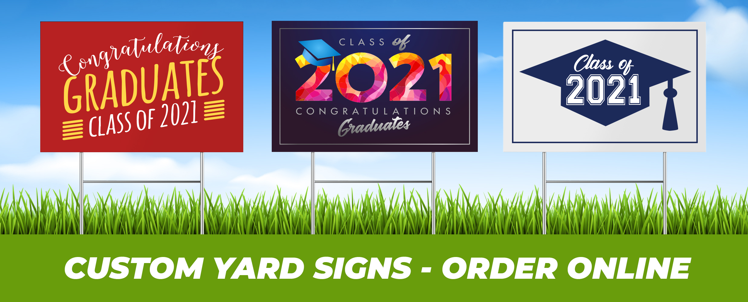 order custom yard signs online