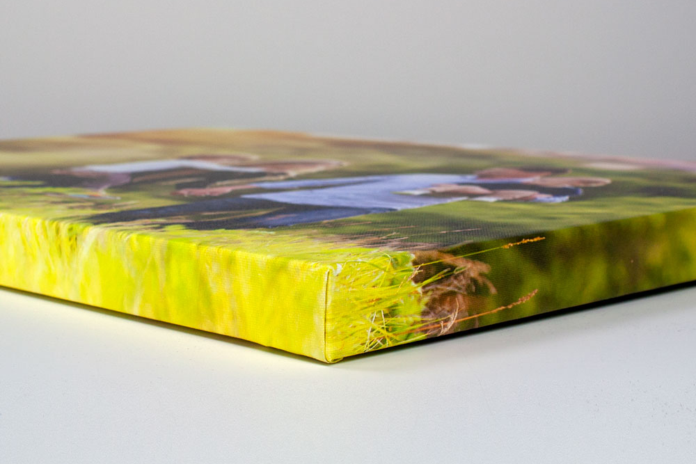 gallery wrap canvas edge