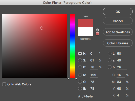 Color Profile Selection