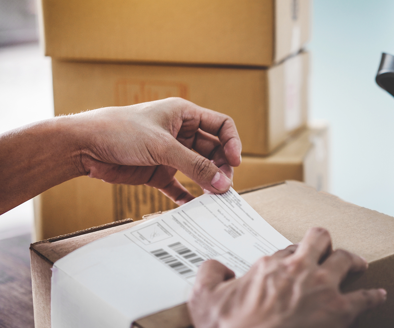 shipping and packaging services