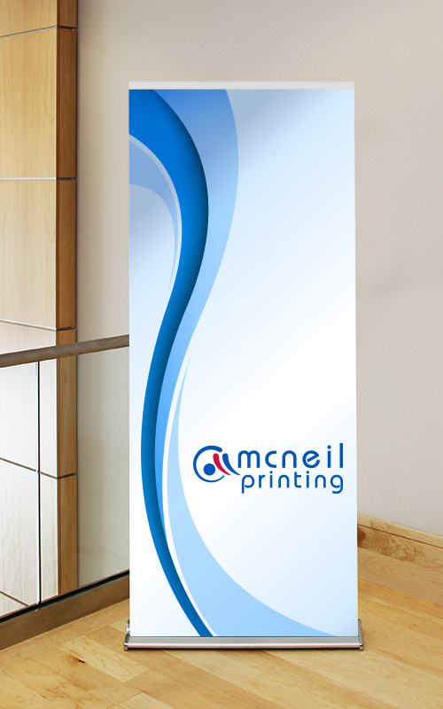 Retractable Banner from McNeil Printing