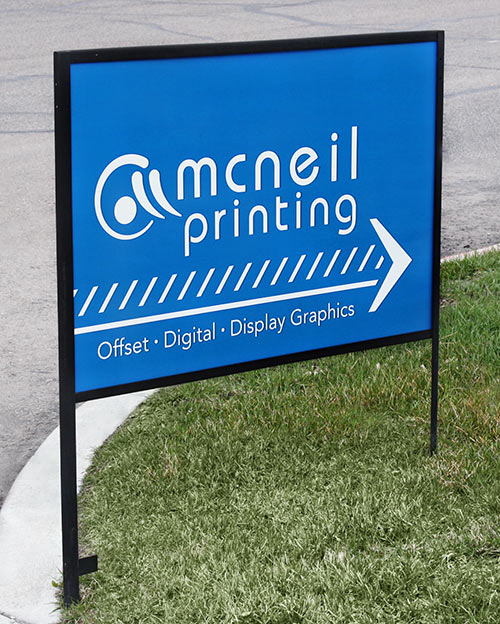Real Estate Sign from McNeil Printing
