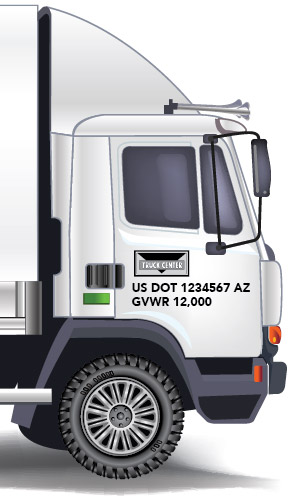 USDOT Decal Information for Trucks