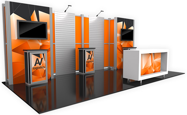 Trade Show Booth With Shelves : Trade show displays mcneil printing in orem utah
