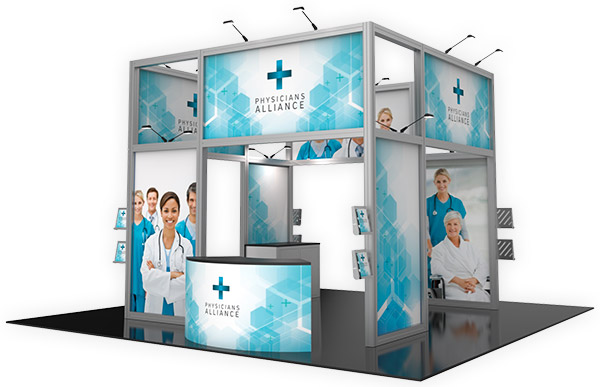 Exhibition Booth Printing : Trade show displays mcneil printing in orem utah
